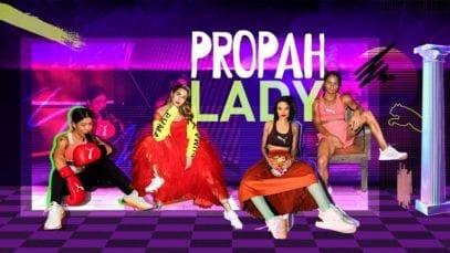 puma-advert Propah Lady ft. Sara Ali Khan, Mary Kom, Dutee Chand, Anjali Lama