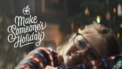 Apple: Holiday – The Surprise – Christmas Ad