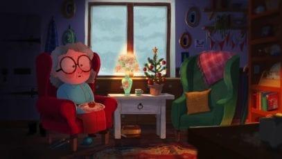 She spending Christmas alone…