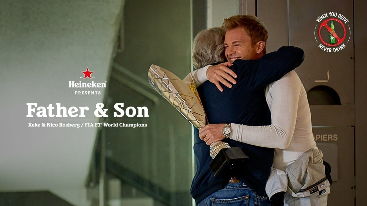 Whos In The New Heineken Christmas Commercial 2020 Heineken: Father and Son   DAILY COMMERCIALS