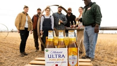 Michelob ULTRA Pure Gold Hero Visual