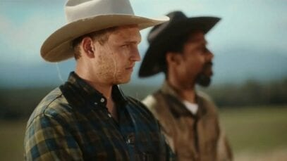 Cowboys Riding on a Horse Mountain Dew TV Commercial