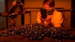 apple iphone Behind the Scenes — Experiments V_ Dark Universe how to