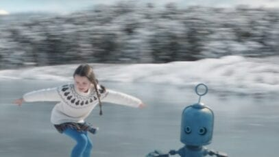 O2 Advert Unwrap the magic of Christmas