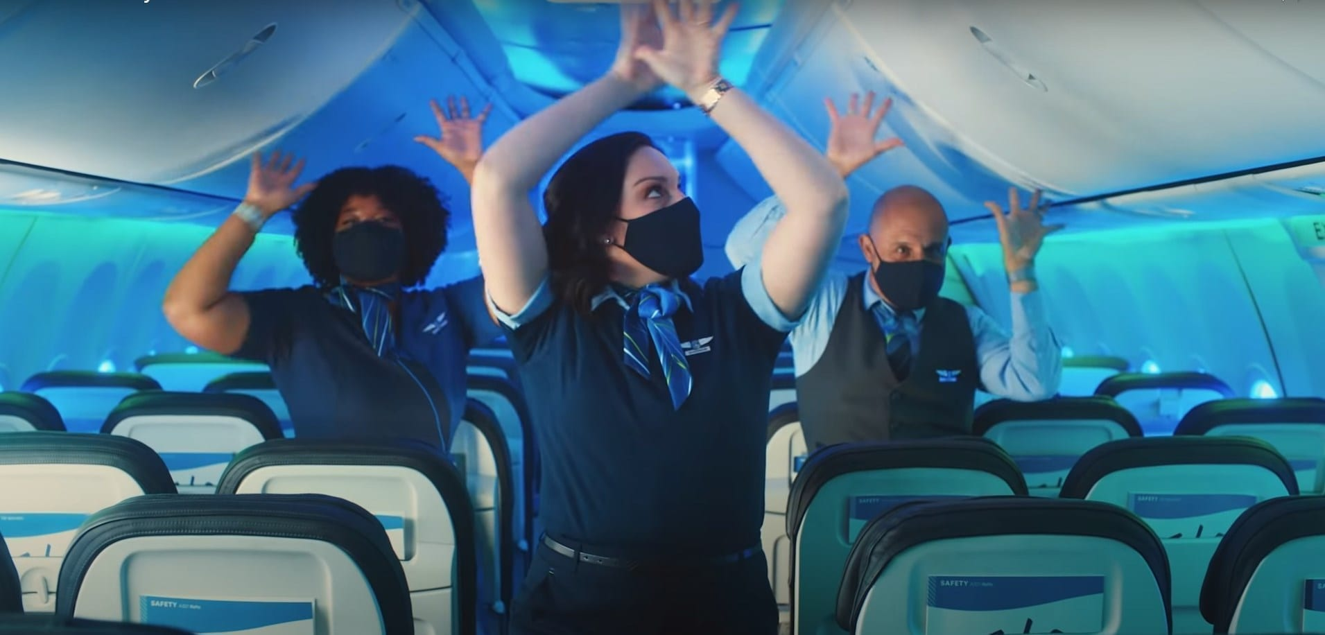 Alaska Airlines Alaska Safety Dance