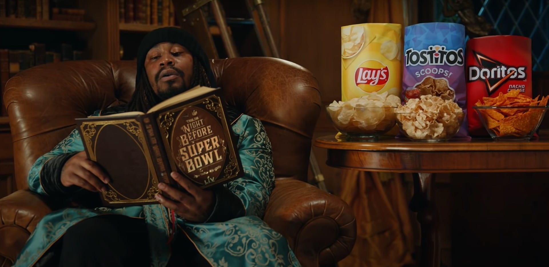 Frito-Lay Super Bowl Ad ft Marshawn Lynch