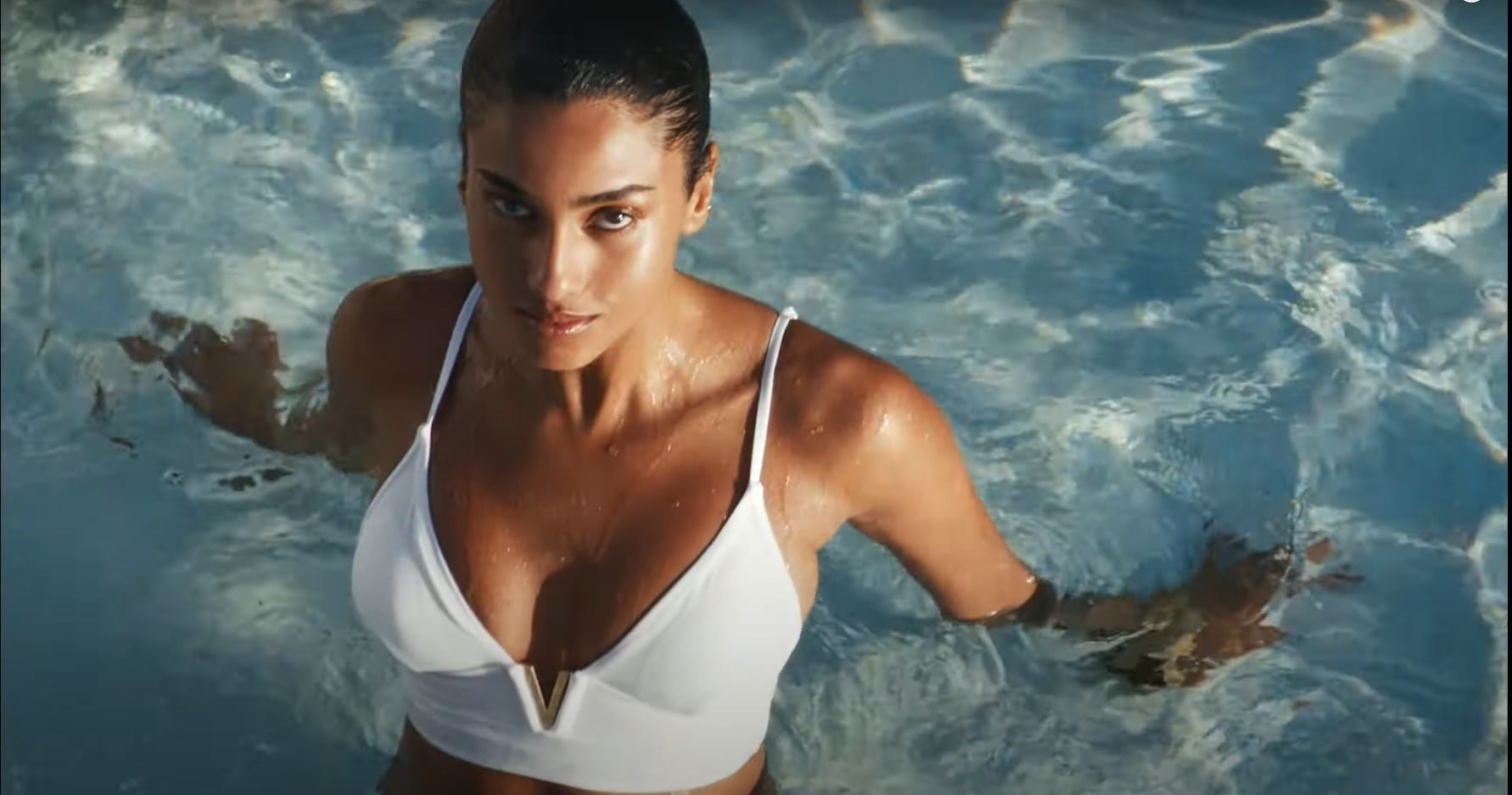 Imaan Hammam Swim Victorias Secret ad