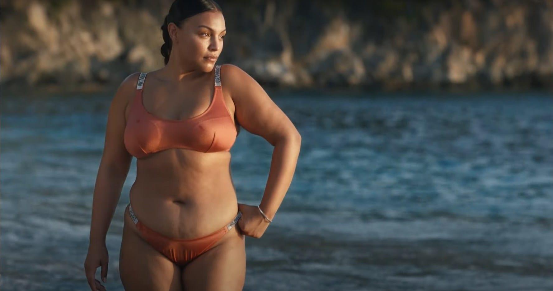 Paloma Elsesser Swim Victoria s Secret commercial