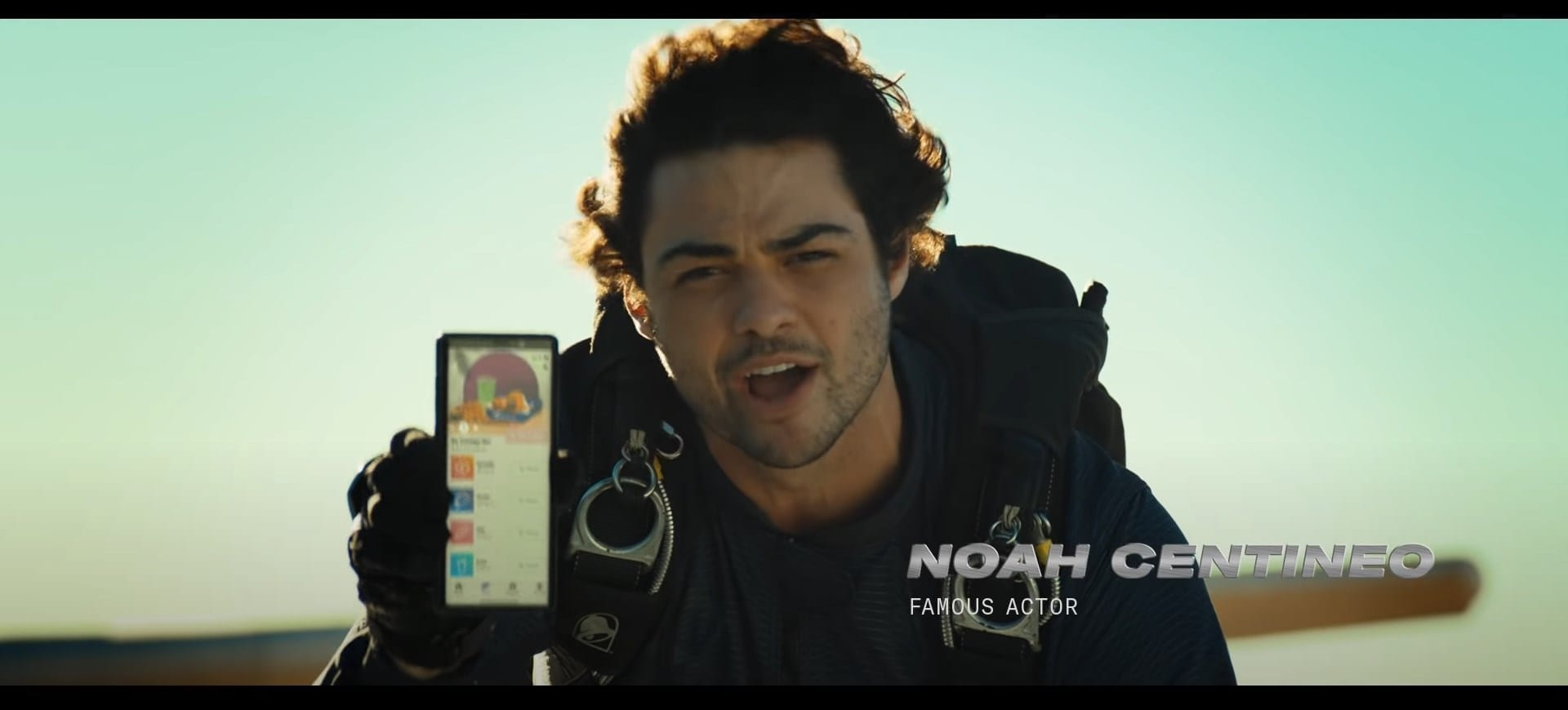 Taco Bell Noah Centineo commercial