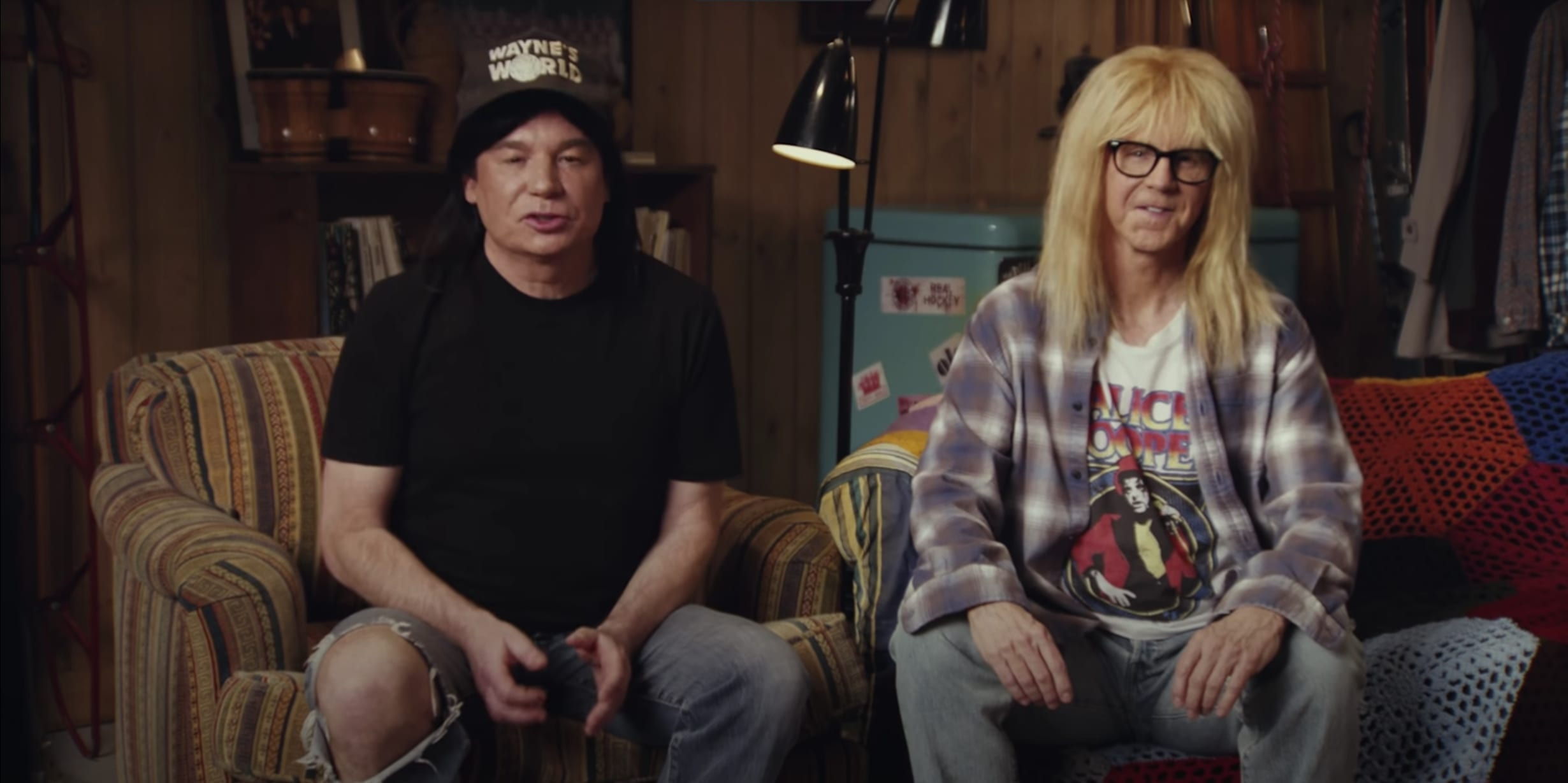 Uber Eats Super Bowl Wayne Garth