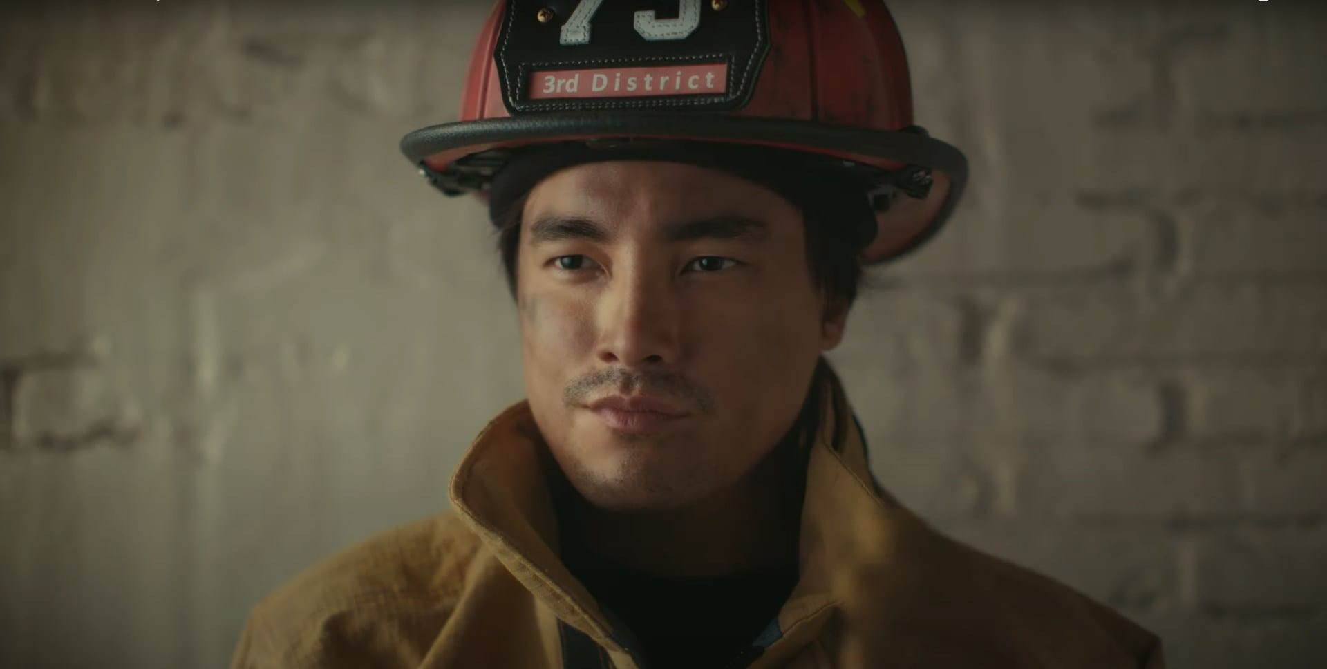 old spice advert firefighter