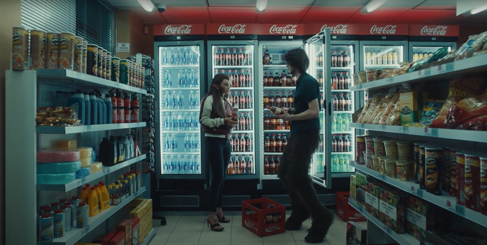Coca-Cola Centaur and Werewolf advert