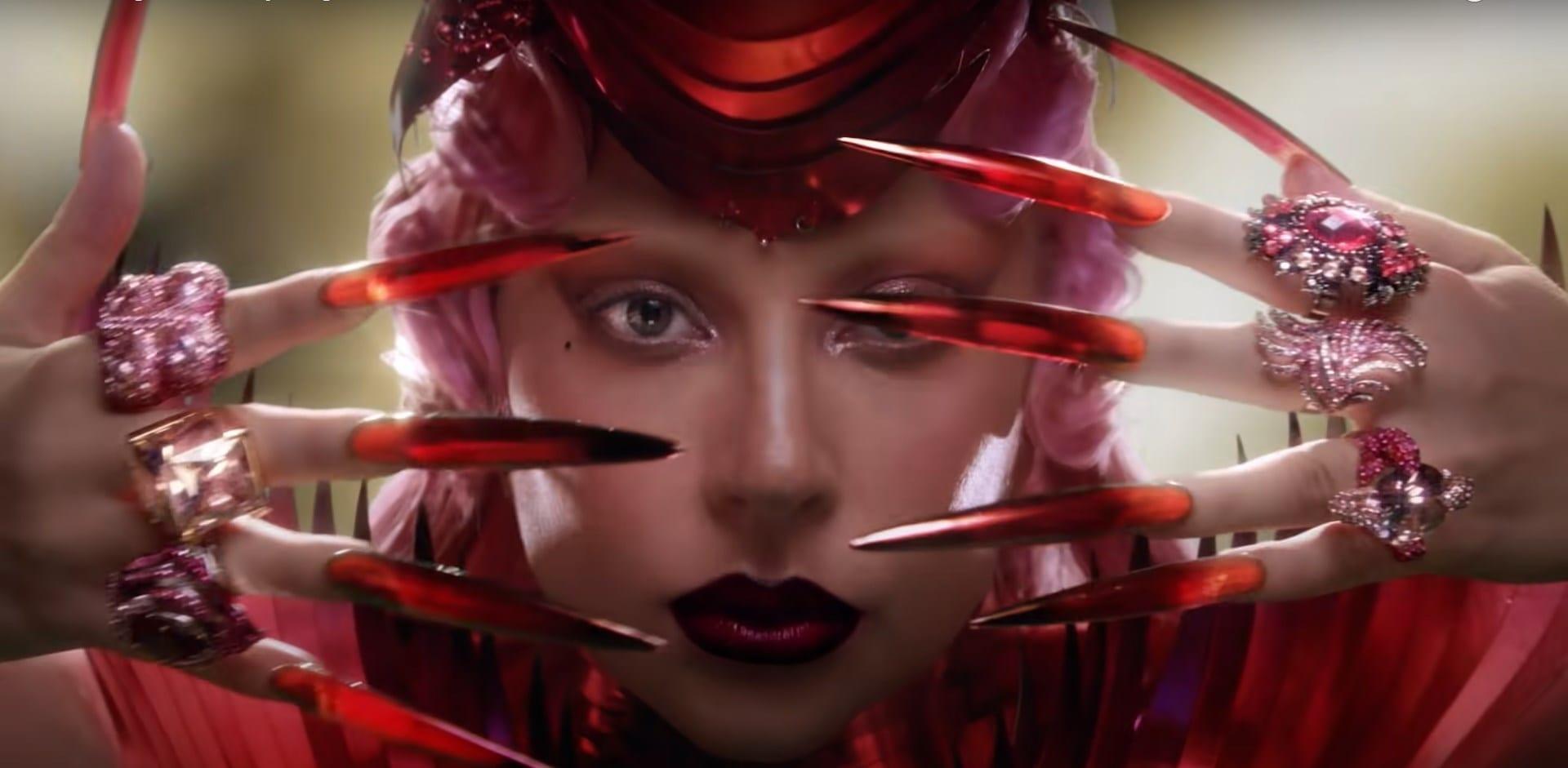 Dom Pérignon Lady Gaga advert