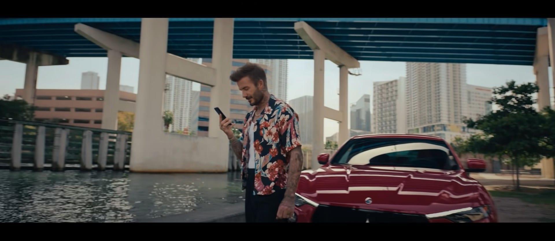 Maserati David Beckham