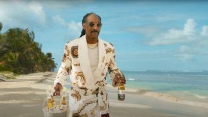Four Corona Extra ads featuring Snoop Dogg