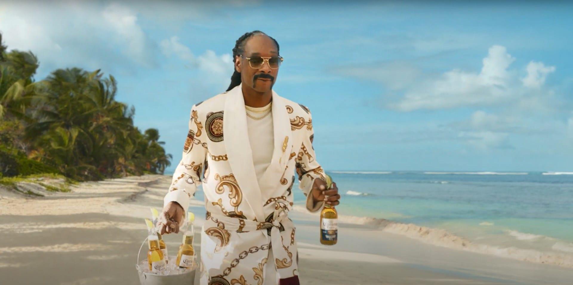 Musique de la pub Quatre publicités Corona Extra mettant en vedette Snoop Dogg  Mai 2021