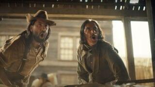 Irn Bru Wild West saloon