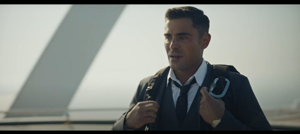 Zac Efron Visit Dubai -video advert